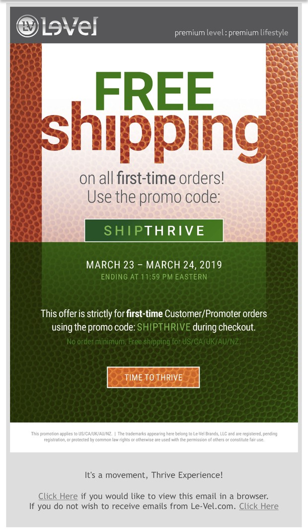 Who is ready to THRIVE? | Smore Newsletters for Business
