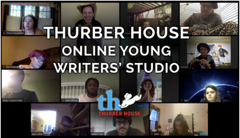 thurber house's young writers' studio for high school students starts January 5th