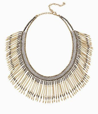 Calla Fringe Necklace