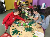 Students created traps for leprechauns