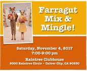 FARRAGUT MIX & MINGLE RSVP
