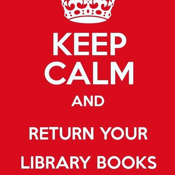 Don't forget to return your library books!