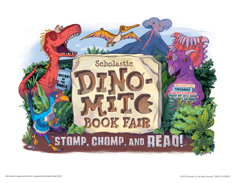 It's time for the Spring BOGO Scholastic Book Fair!