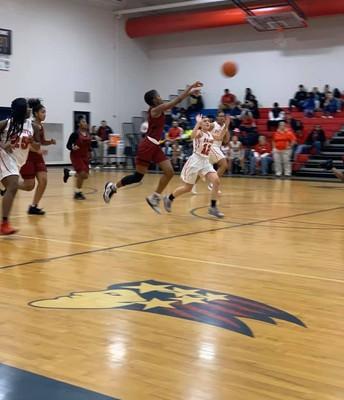 Girls Basketball won against PK.