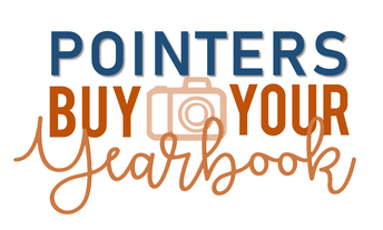 Graphic of Pointers buy your yearbook
