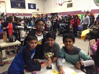 Young student team won the Bluestem Crosstown Battle