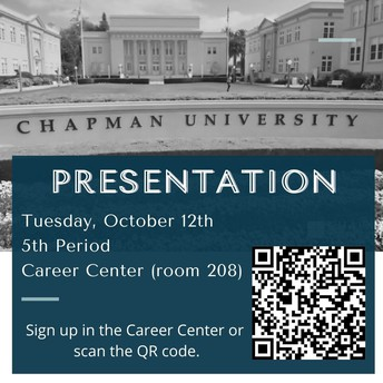 Chapman University Presentation