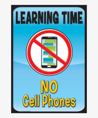 Students- Cell phones MUST be turned in to the office before going to class.