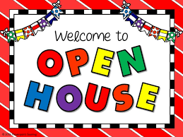 IMPORTANT OPEN HOUSE DATES