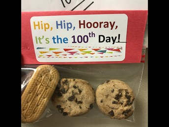 We celebrated the 100th Day of School!
