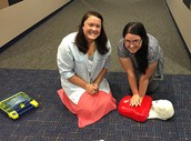 Learning CPR and AED