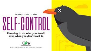 Character Trait of the Month: Self-Control
