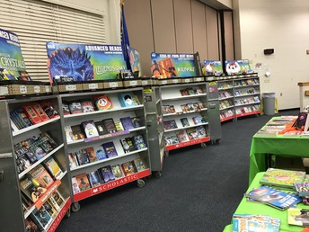 Check out all the books!