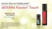 Product of the Month & 10% Off In February