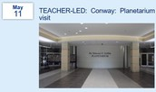 TEACHER-LED:  Conway:  Planetarium and Nature Preserve