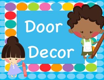 Winter Classroom Door Decorating