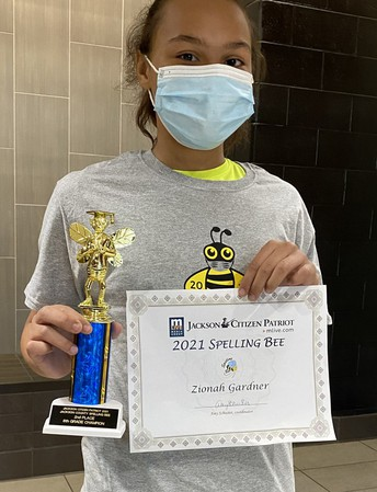 S-U-C-C-E-S-S at Jackson County Spelling Bee!