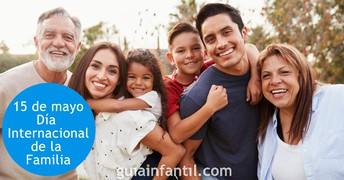 ¡Celebre su familia! - Día Internacional de la Familia, 15 de mayo