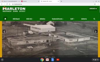 Go to the school website