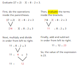 Topic 13: Write and Interpret Numerical Expressions