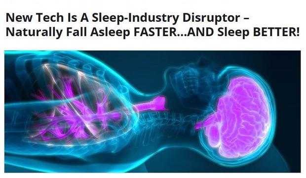 New Tech is a sleep industry disruptor - Naturally fall asleep faster and sleep better