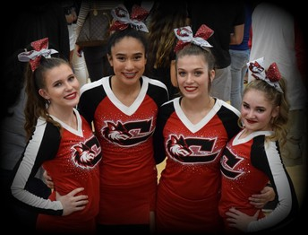 CHS COMPETITION CHEER TEAM