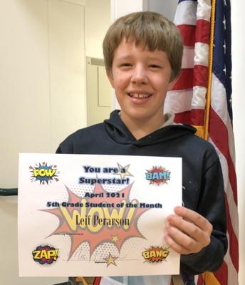 5th Grade Leif Pearson