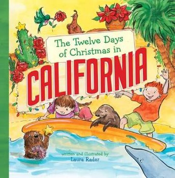 The 12 Days of Christmas in CA - Read Aloud and Map Activity