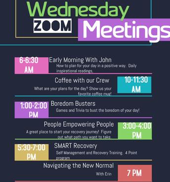 Wednesday Events