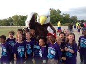 The Ethridge Eagle joins in the fun!
