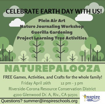 Naturepalooza! Celebrate Earth Day with us!