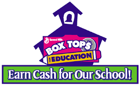 Collect BOX TOPS FOR EDUCATION!