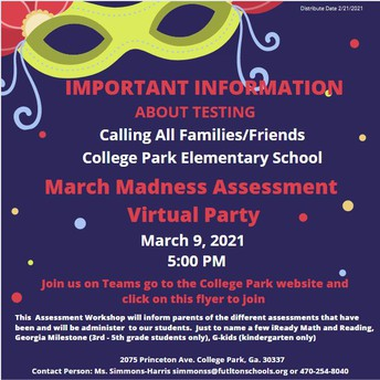 March Madness Assessment Party