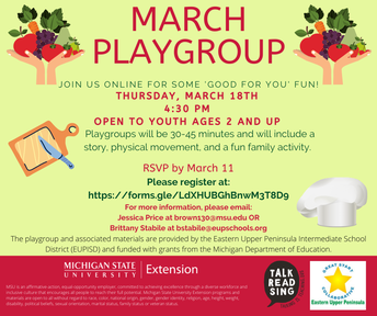 March Playgroup