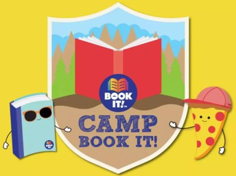 camp book it pizza hut
