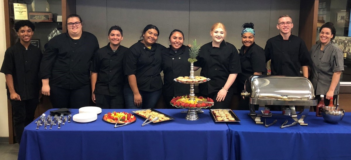 CHS Culinary Students