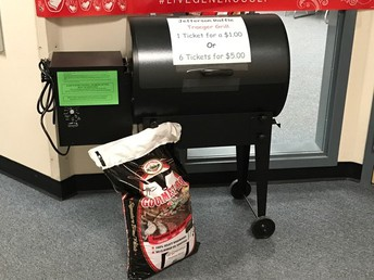 Raffle tickets for the Traeger 1-$1  6-$5