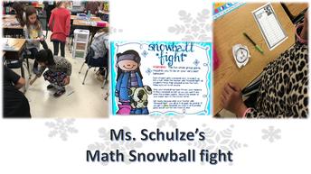 Mrs. Schulze's 3rd grade class