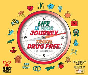 Red Ribbon Week - October 23rd - October 31st