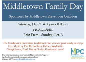 Family Day: Save the Date!