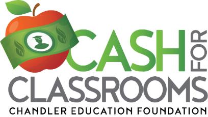 Cash for Classrooms Logo