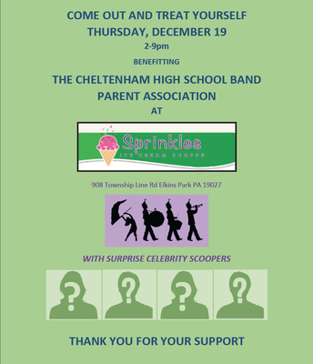 Support the CHS Band @ Sprinkles