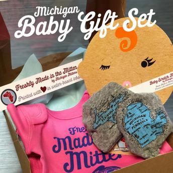 Michigan Baby Gift Set