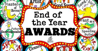 Kinder Graduation/Awards Ceremonies