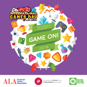 November 19- International Game Day @ Your Library