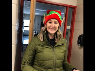 Ms. Warkentin - ready to go!