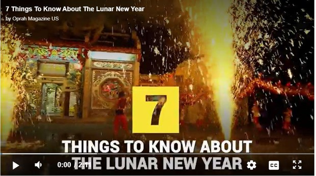 Lunar New Year Facts