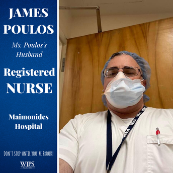 male nurse in medical mask and cap