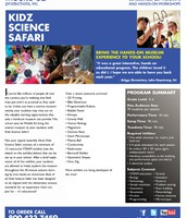 Kidz Science Safari