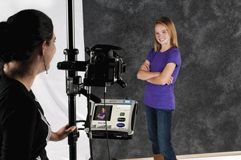 Have your school picture taken by Lifetouch